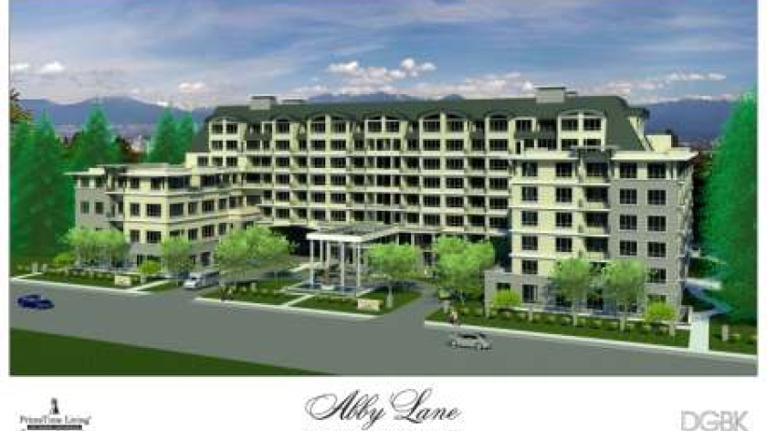 Multi- use medical, residential building located on White Rock/Surrey border. Completed 2020.