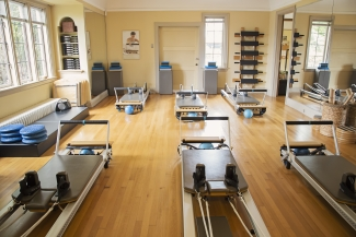 Pilates Studio with Reformers